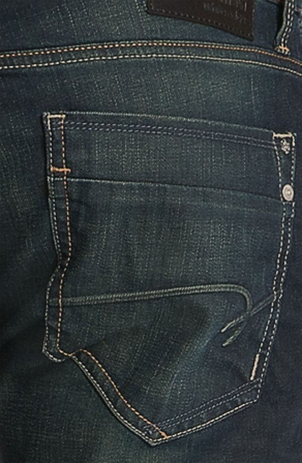 Alternate Image 4  - Mavi Jeans 'Jake' Slim Fit Jeans (Smoke White Edge)