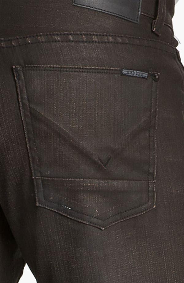 Alternate Image 4  - Hudson Jeans 'Byron' Coated Straight Leg Jeans (Tomahawk)