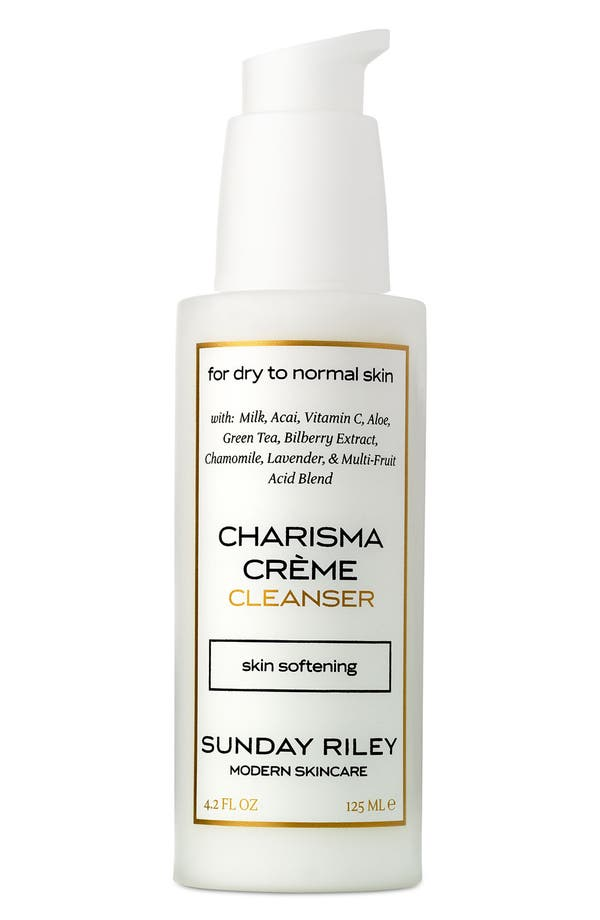 Alternate Image 1 Selected - Sunday Riley 'Charisma Crème' Cleanser