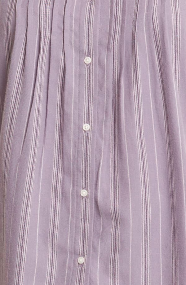 Alternate Image 3  - Lauren Ralph Lauren Sleepwear Brushed Twill Pajamas