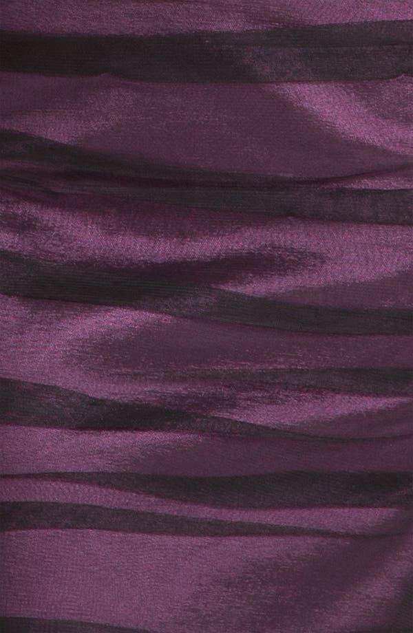 Alternate Image 3  - JS Collections Shirred Illusion Yoke Sheath Dress