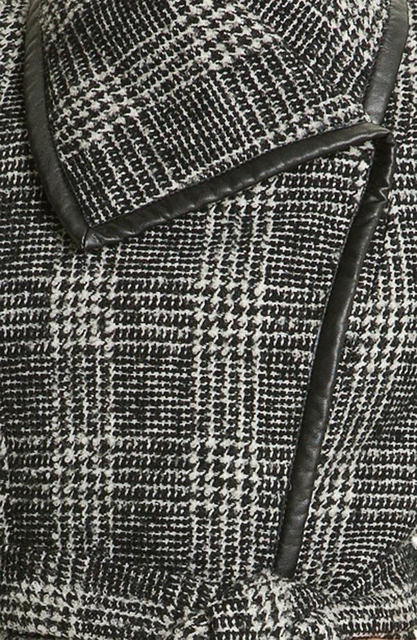Alternate Image 3  - Vince Camuto Plaid Wrap Coat