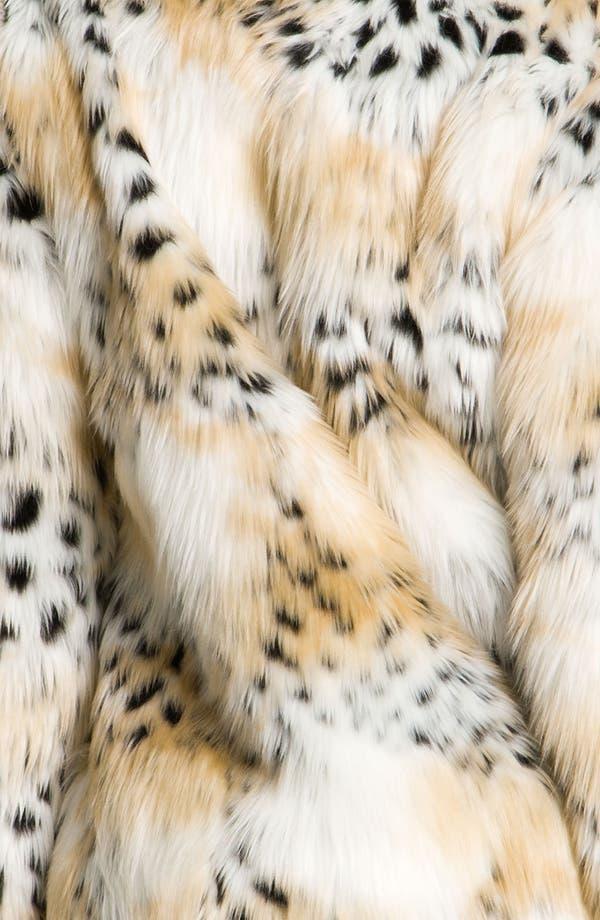 Alternate Image 3  - Betsey Johnson Faux Fur Jacket