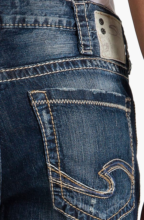 Alternate Image 4  - Silver Jeans Co. 'Grayson' Bootcut Jeans (Indigo)