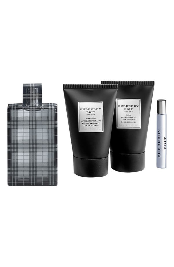 Main Image - Burberry Brit for Men Fragrance Set ($129 Value)