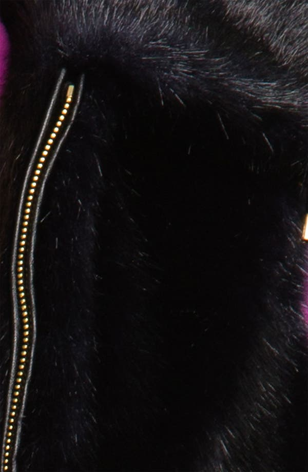 Alternate Image 3  - Ellen Tracy Faux Fur Anorak Vest (Nordstrom Exclusive)