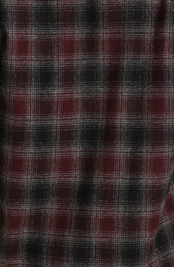 Alternate Image 3  - Pendleton 'Lodge' Fitted Plaid Wool Flannel Shirt