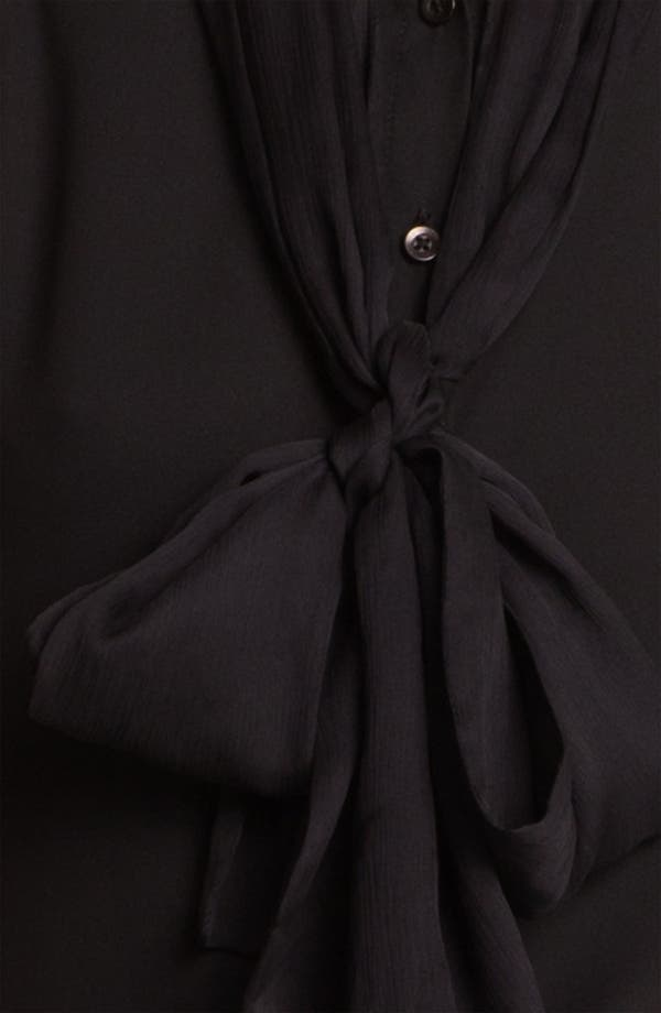 Alternate Image 3  - Alice + Olivia 'Nene' Tie Neck Top