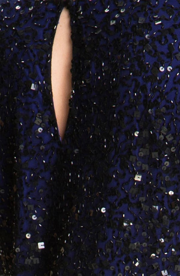 Alternate Image 3  - JS Collections Sequined Sheath Dress (Plus)
