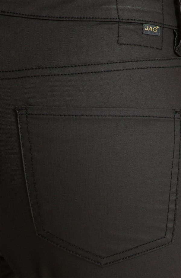 Alternate Image 3  - Jag Jeans 'Chloe' Faux Leather Pants (Petite)
