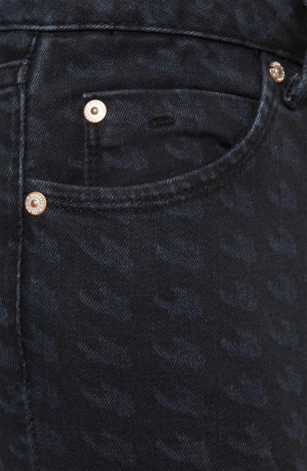 Alternate Image 3  - Topshop Moto Houndstooth Cigarette Jeans