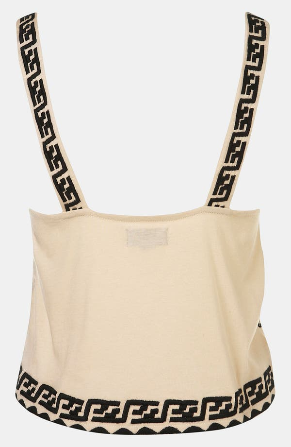 Alternate Image 2  - Topshop 'Aztec' Embroidered Camisole