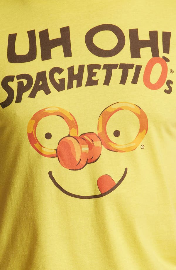 Alternate Image 3  - Topless 'Uh Oh! Spaghetti-Os' T-Shirt
