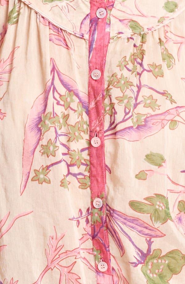 Alternate Image 3  - Donna Karan Collection Floral Print Blouse