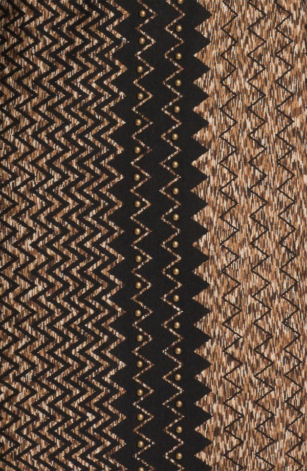Alternate Image 3  - Donna Ricco Zigzag Print Sheath Dress