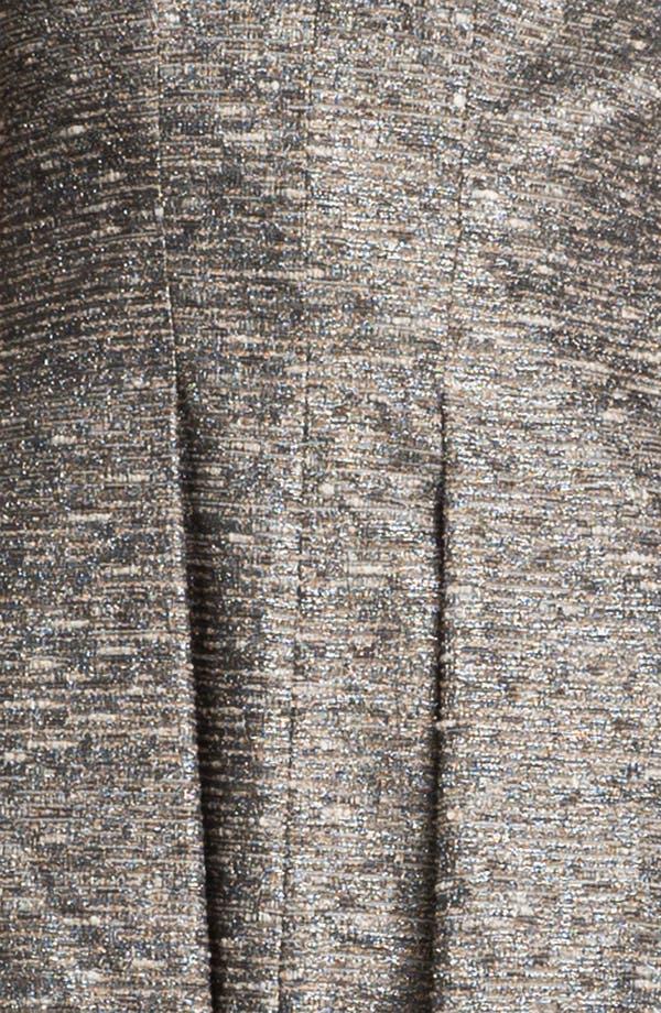 Alternate Image 3  - Mcginn 'Chloe' Textured Metallic Dress