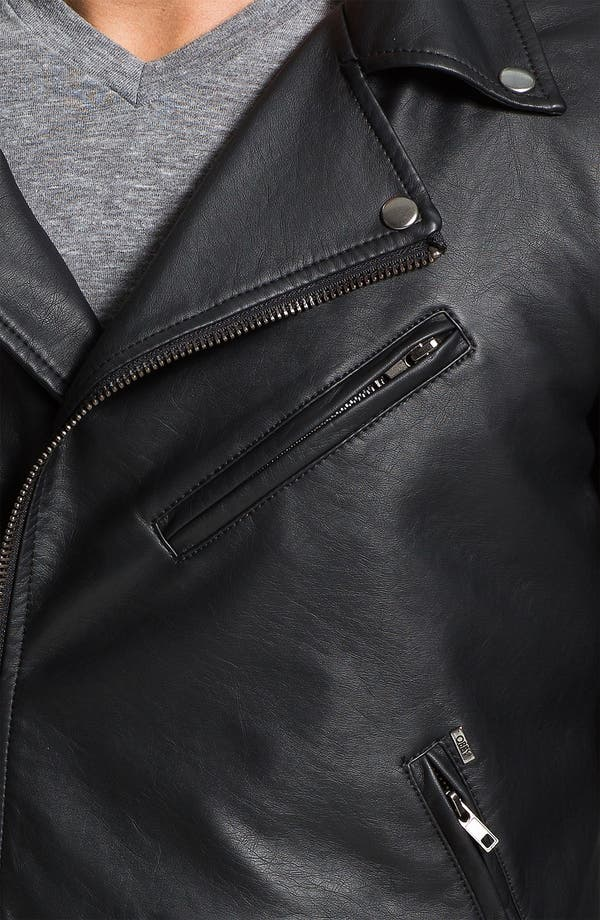 Alternate Image 3  - Obey 'Dirty' Faux Leather Jacket