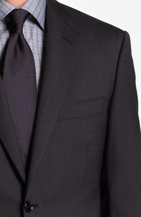 Alternate Image 6  - Pal Zileri Trim Fit Wool Suit