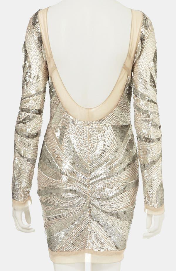 Alternate Image 2  - Topshop Embellished Body-Con Dress