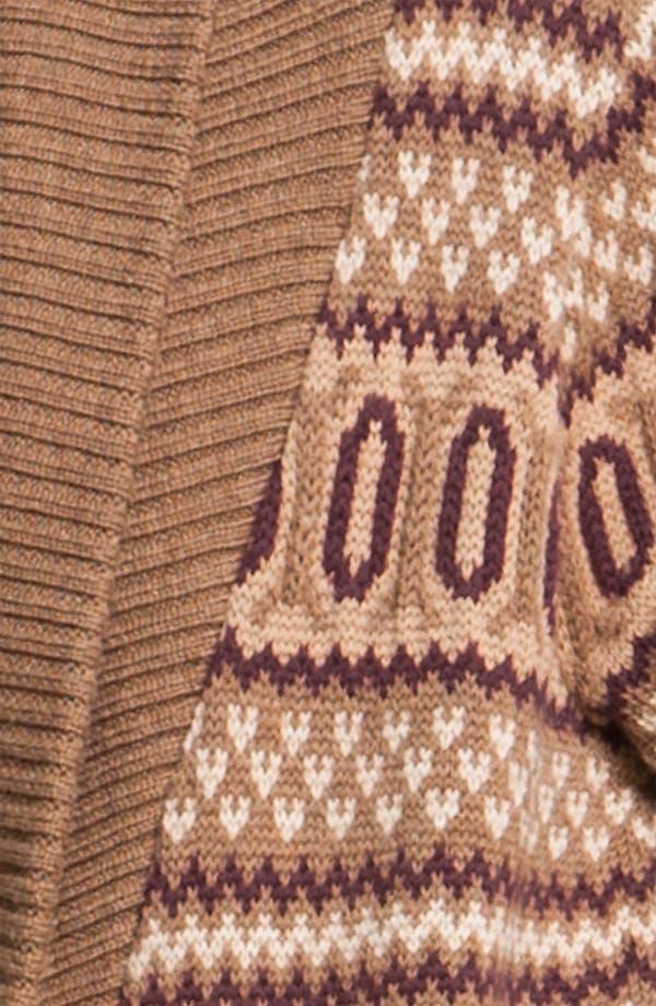 Alternate Image 3  - Haute Hippie Intarsia Merino Wool Cardigan