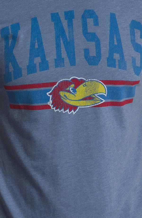Alternate Image 3  - The Original Retro Brand 'University of Kansas Jayhawks' T-Shirt