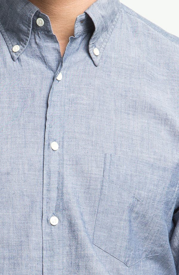 Alternate Image 3  - Gant Rugger Chambray Shirt