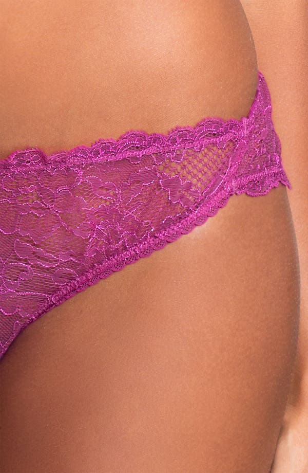 Alternate Image 3  - Mimi Holliday 'Berry Fest' Classic Thong