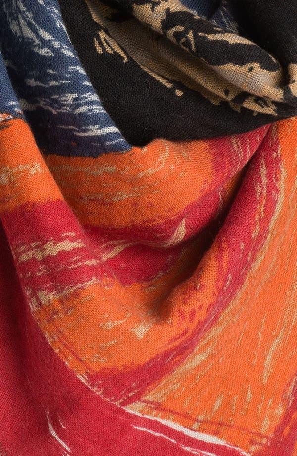 Alternate Image 3  - Yarnz 'The Scream' Cashmere & Wool Scarf