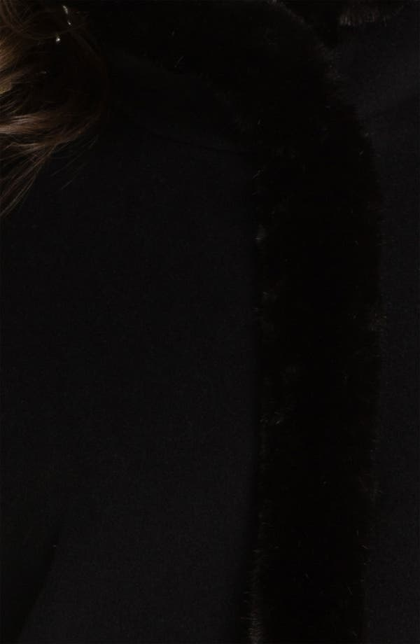 Alternate Image 3  - Ellen Tracy Faux Fur Trim Topper
