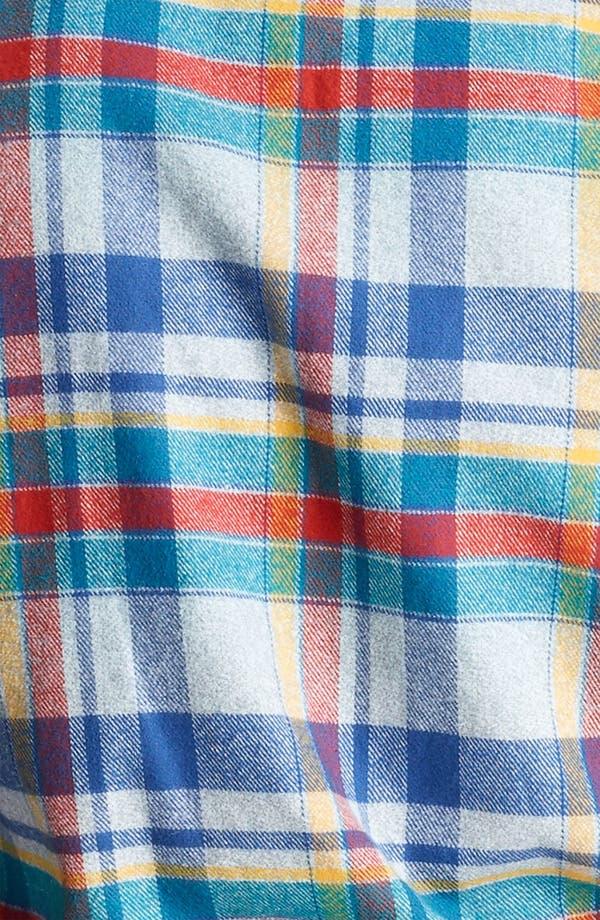 Alternate Image 3  - Topman Plaid Cotton Flannel Shirt