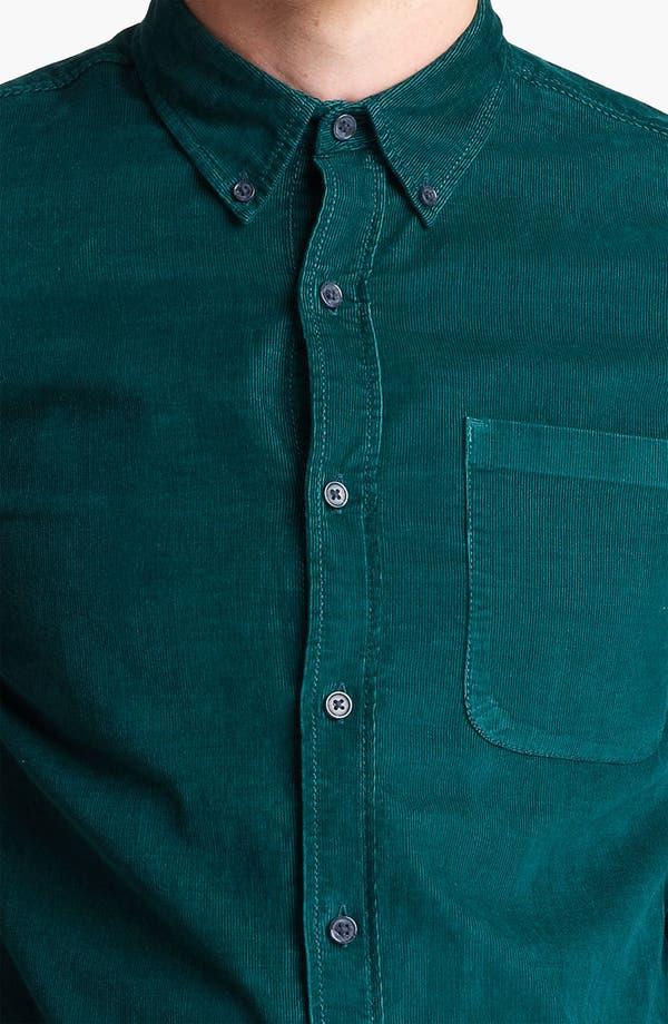 Alternate Image 3  - Topman Button Down Corduroy Shirt