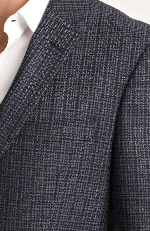 Alternate Image 3  - Versace Trim Fit Check Blazer