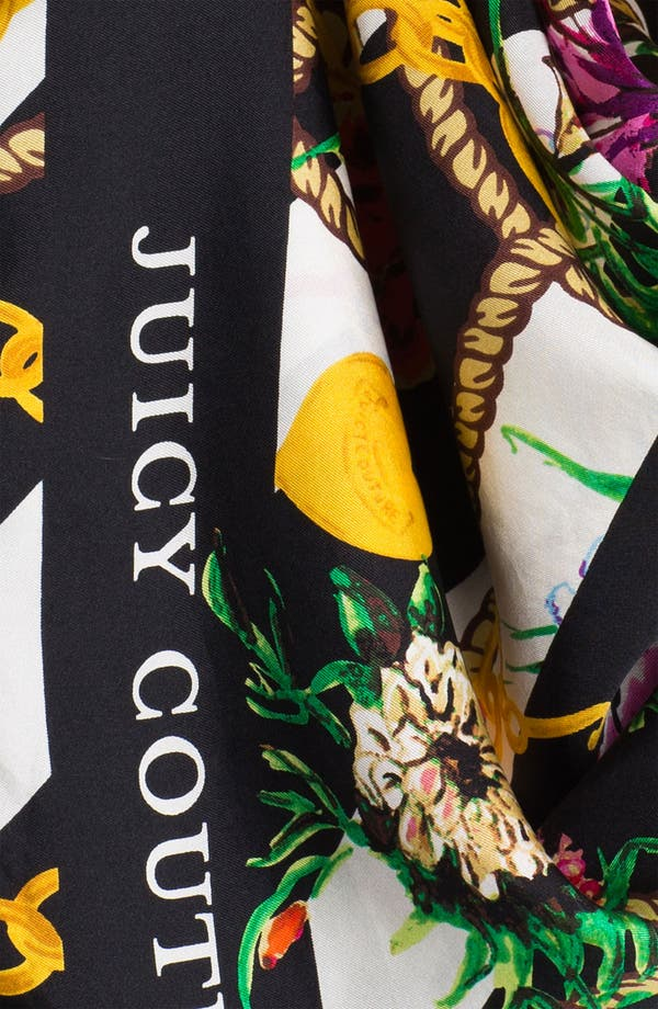 Alternate Image 2  - Juicy Couture 'Royal Iconic' Silk Scarf