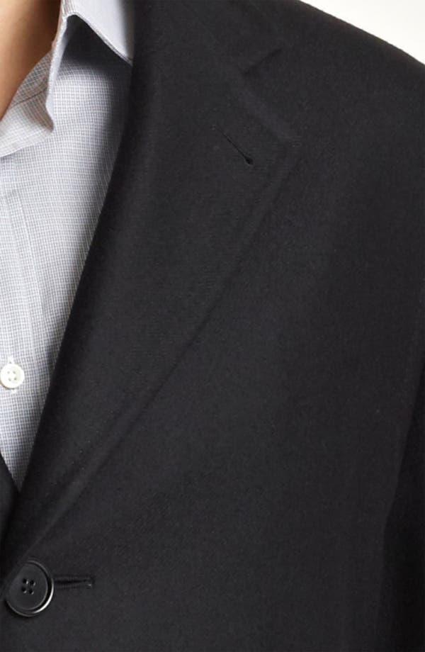 Alternate Image 3  - Canali Wool Top Coat