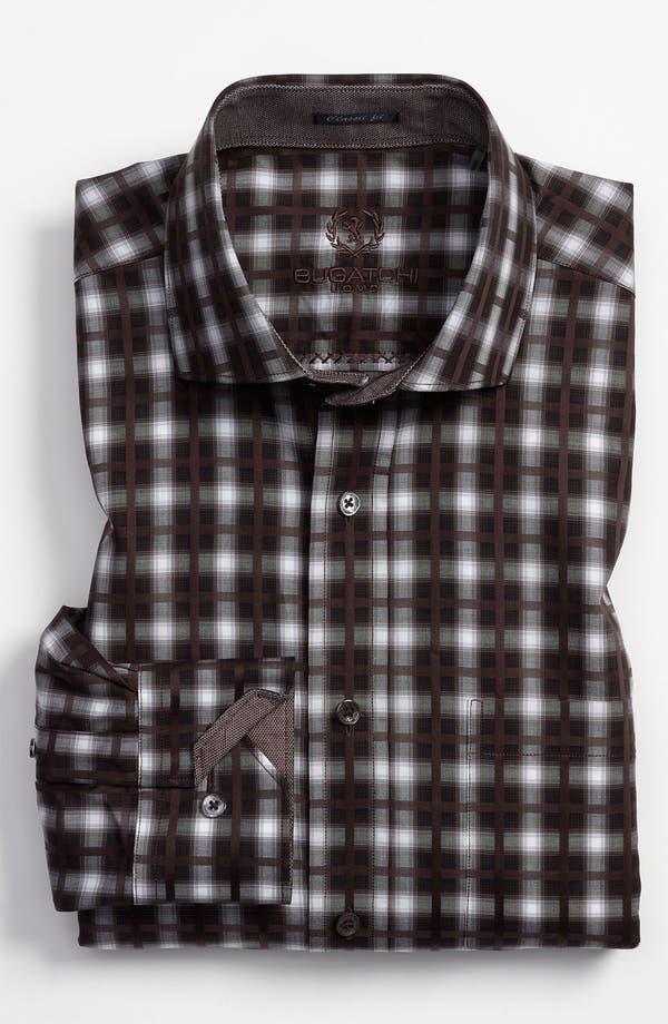 Alternate Image 2  - Bugatchi Uomo Classic Fit Sport Shirt