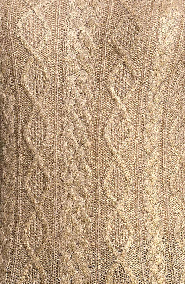 Alternate Image 3  - Christopher Fischer 'Isabel' Foil Front Cashmere Sweater