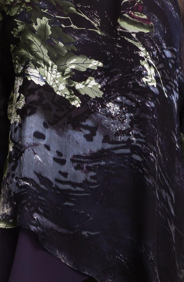 Alternate Image 3  - Citron Burnout Velvet Top