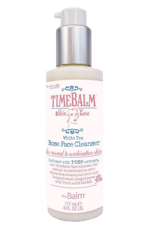 Alternate Image 1 Selected - theBalm® 'TimeBalm®' Rose Face Cleanser (Normal to Combination)