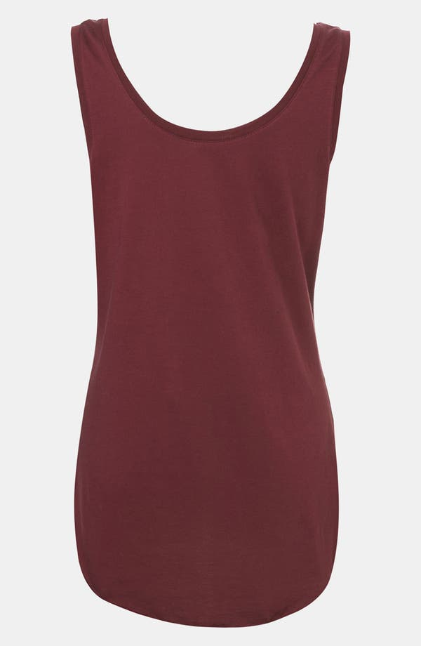 Alternate Image 3  - Topshop 'Symbol Couple' Sleeveless Maternity Tee