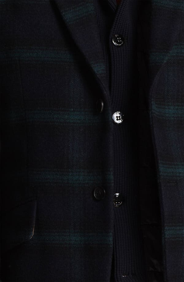 Alternate Image 4  - Scotch & Soda Wool Blend Blazer with Quilted Liner Vest