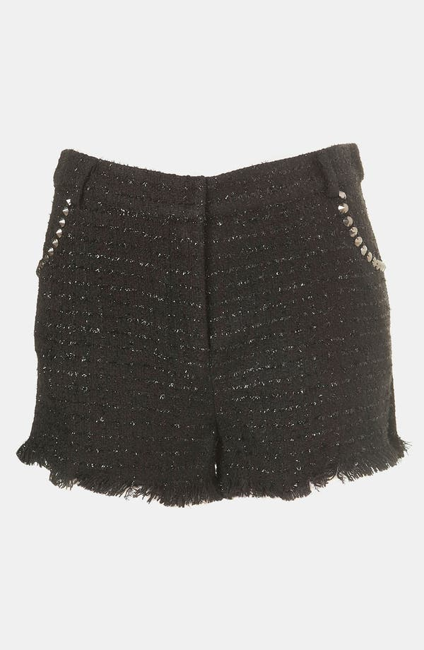 Alternate Image 1 Selected - Topshop Studded Bouclé Shorts