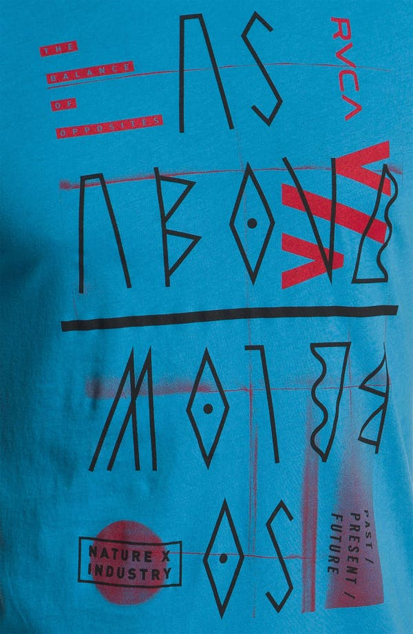 Alternate Image 3  - RVCA 'As Above So Below' Vintage Wash T-Shirt