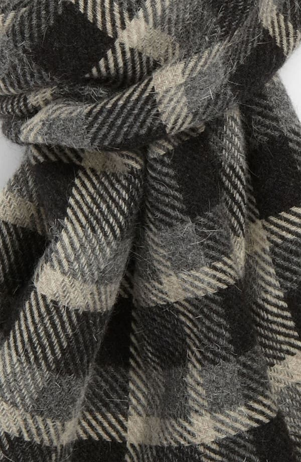 Alternate Image 2  - Canali Plaid Scarf