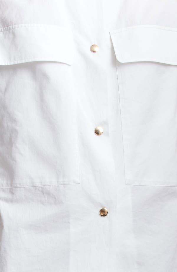 Alternate Image 3  - Marni Edition Patch Pocket Gabardine Shirt