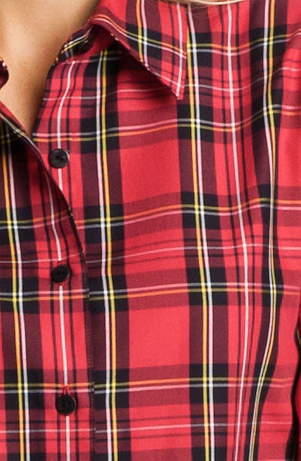 Alternate Image 3  - Foxcroft 'Classic Tartan' Shirt (Petite)