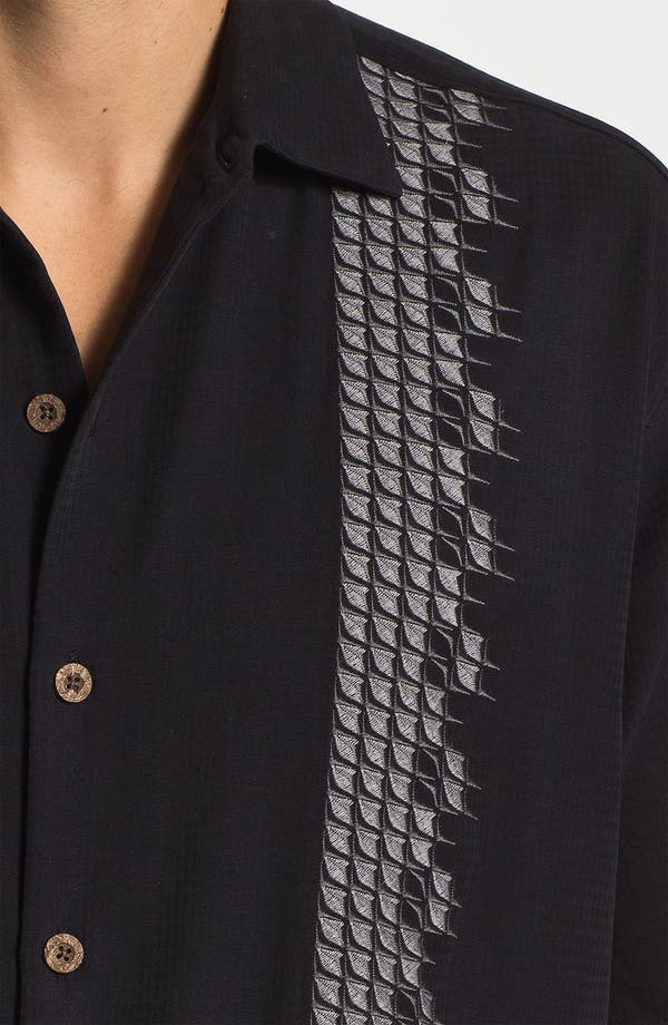Alternate Image 3  - Tommy Bahama 'Sand Deco' Silk Campshirt