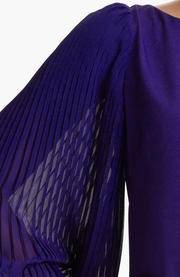 Alternate Image 3  - Eliza J Pleated Blouson Sleeve Shift Dress