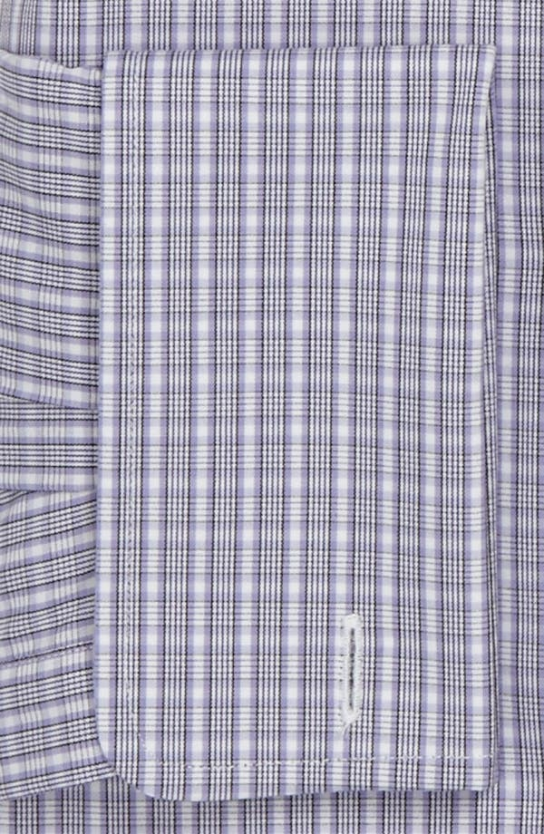 Alternate Image 2  - David Donahue Trim Fit Dress Shirt
