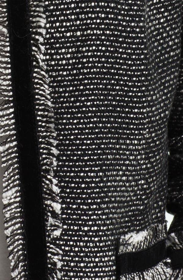 Alternate Image 3  - Max & Mia Open Front Tweed Jacket