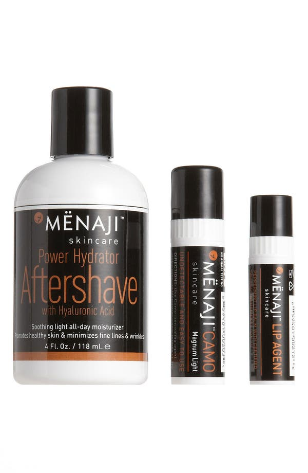 Alternate Image 1 Selected - Mënaji Skincare for Men 'Light' After Shave Kit ($67.50 Value)